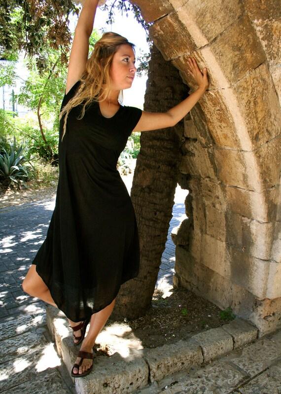 Black AWARENESS Dress ( Short Sleeves ) - FREE Shipping