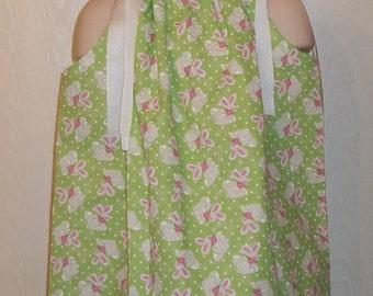 Bunny Pillowcase Dress,Girls 2T-3T from Beachbabies Boutique