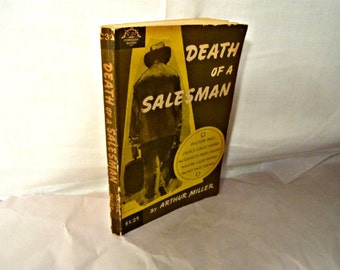 Death Of A Salesman By Arthur Miller Retro Paperback Edition 1964