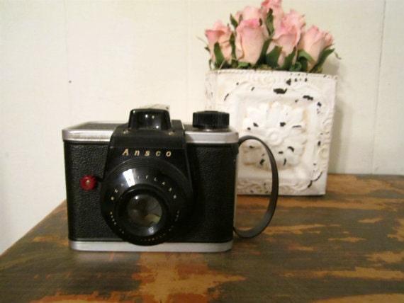 Ansco ReadyFlash Camera 1950s Working Camera