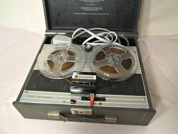 Tape Recorder Sears Silvertone Circa 1965