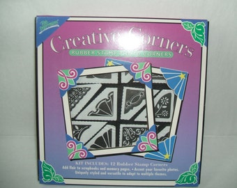 CREATIVE CORNERS RUBBER STAMPS