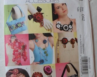 McCall's Fashion Accessories, Pattern M5901