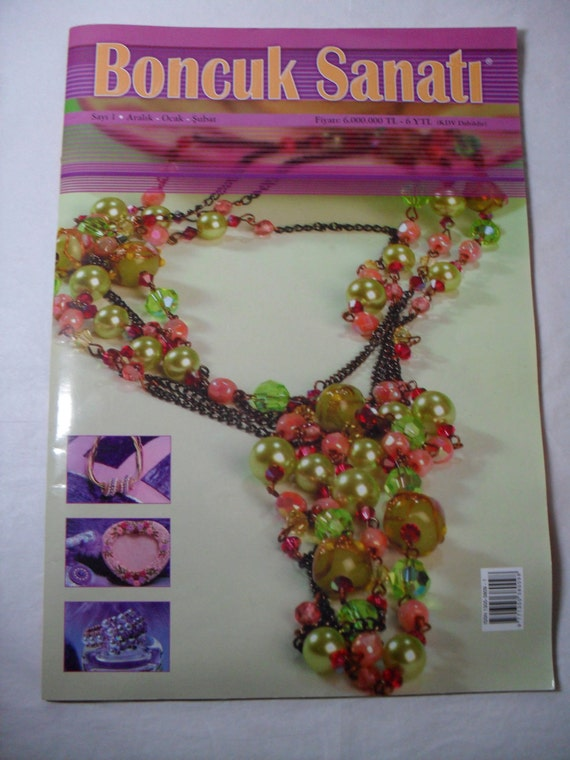 Supplies, Magazine, from Turkey, Beading Magazine