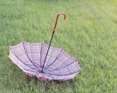 Vintage PK Umbrella With Lucite Handle