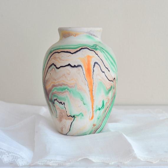 Vintage Nemadji Pottery USA Vase