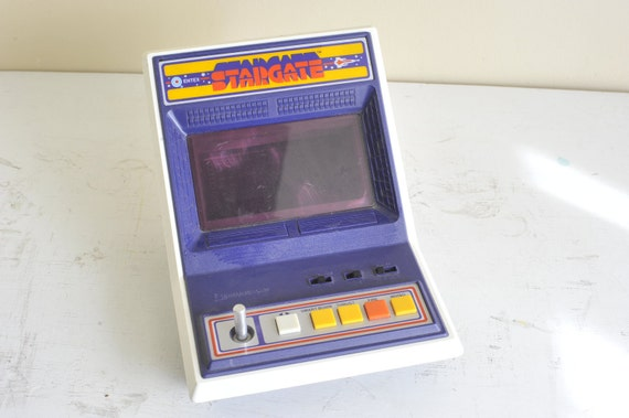 On SALE // 1982 Entex Stargate Electronic Handheld Tabletop Arcade Game Vintage Rare