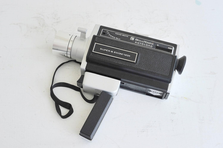 bell and howell super 8 zoom 1201 video camera. Black Bedroom Furniture Sets. Home Design Ideas