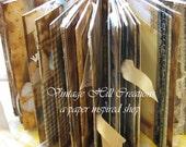 Wedding Guest Book- Farm House Yellow-  Custom - Vintage Shabby Primitive - 8.5 X 11