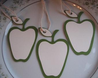 50 Apple Wedding Wish Tree Tags, Green Apple Wedding