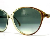 80's Vintage German Metzler 0602 Cat Eye Sunglasses