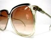 80's Vintage French Oversized Sunglasses