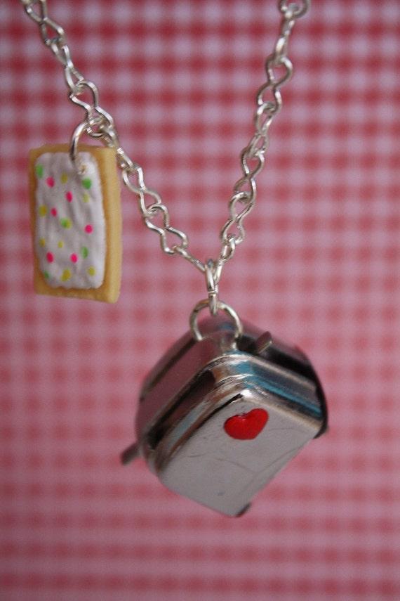 PopTart Love Toaster Necklace