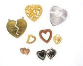 Vintage Hearts sample collection 8 pieces
