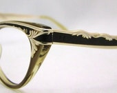 CATSEYE 1950s eyeglasses STUNNING , Foremost Brand USA