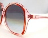 Stunning Pink 1970s  80S  VINTAGE  Sunglasses  High Quality Mint Mint as new