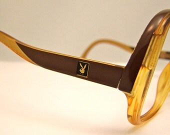 SALE was 110 now 89 Women's PLAYBOY  Vintage 1970S Eyeglasses Amazing  Rare,,optyl