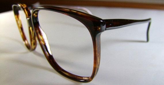 Tauschek High Quality Mens Large lens Vintage Eyeglasses  1970s 1980s  Mint