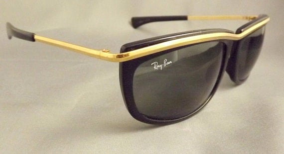 Rare RAY BAN   Olympian Vintage Sunglasses  ,with case1990s
