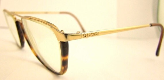 Mens GUCCI  Vintage Eyeglass Frames 1980s  90s  Optical frames style gg1308 Italy