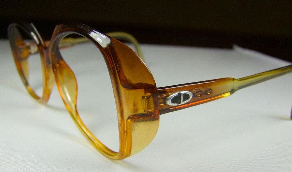 Vintage Dior Eyeglass Frames : 1970s DIOR Eyeglasses // 70s Vintage Designer by ifoundgallery