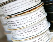 White Cotton lettering Tape 15 Yards, U1920