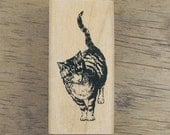 Looking at me, Lovely Cat Stamp, U2780