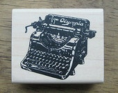 The Antique Style, a manual typewriter Stamp, U2781