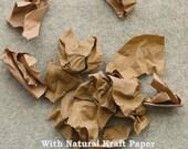 Great, 2 Yards of Natural Kraft Linen Blended WIDE 140cm, U2145