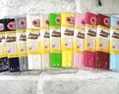BULK, Thin Knit Double fold  Bias, 11 colors, U3050
