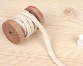 SALE, 20 yards, BOLD Braid Cotton tape 6mm, U3103
