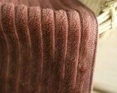 A yard,  Warm Cotton Corduroy Red Brown, Stirpes, U3181