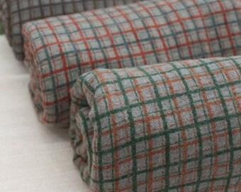 Special Sale, Vintage Classic Check 3 colors AZUMINO Fat quarter, U1111