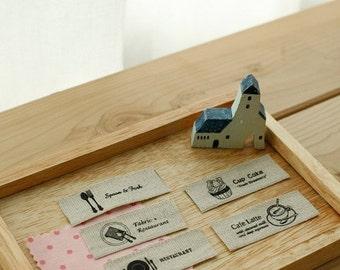 Antique Cuisine Linen Labels set of 10, U1047