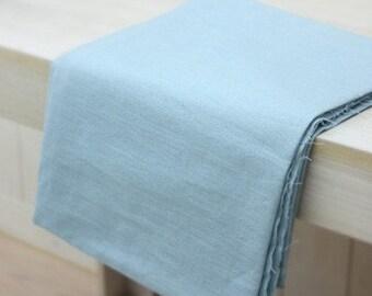 Special sale, Lovely Sky Blue Linen Blended 150cm WIDE, U1479