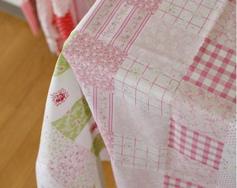 2.5 yards, Pink Patches printed cotton 150cm, U1544