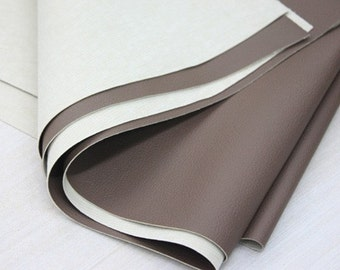 Brown Thick Leather 140cm , U1629