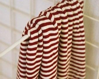 Lovely Wine Stripe DAIMARU Cotton, U1276
