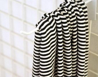 Lovely Black Stripe DAIMARU Cotton,U1277