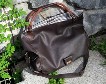 Dark Brown Thick Leather 700mm , U1628