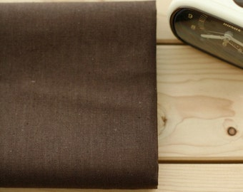 De Chocolate Linen Blended WIDE 152cm, U1983