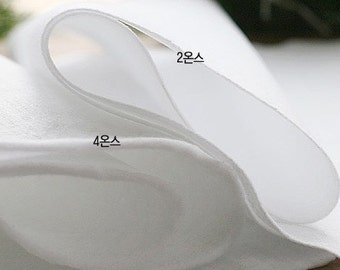 Interfacing, Adhesive Cotton 4ounce for bag and artworks, U2136