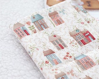 3 Yards, HomeTown Country Houses on Cotton, U2154
