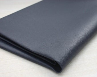 Deep Navy Faux Leather 700mm, U2217