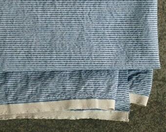 Blue Petit Stripe Washing Cotton, U1354