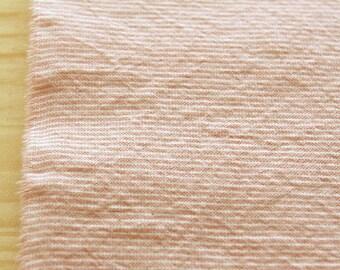 A Yard of PINK 1mm STRIPE Pink Washing Cotton, U2233