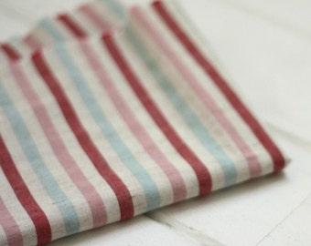 Half yard of  Sweet Stripes Linen Blended, U2238