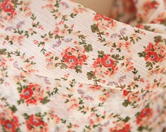 A Yard of Sale, Floral Chiffon 154cm WIDE, U2253