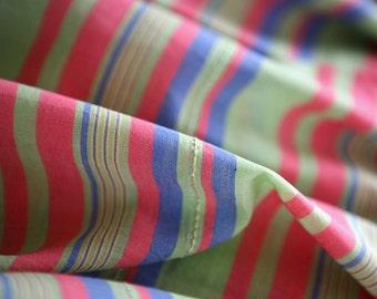 5 Yards of Sale, Aroma Fresh Stripes Cotton WIDE 150cm A Yard, U2292