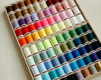 Lovely 100 Colors Thread, 400m each, A set of 100, U2581